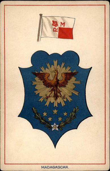 Madagascar Flag  Coat of Arms