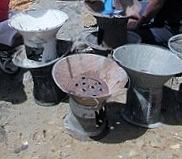 fatapera : foyer métallique à charbon de bois