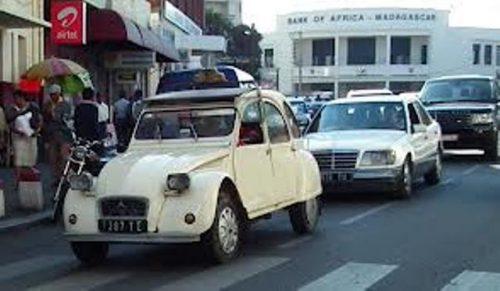 Voici un taxi