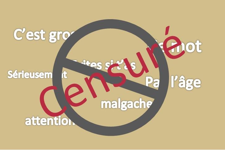 Top 7 : Ces noms sont des gros mots malgaches, interdit aux -16