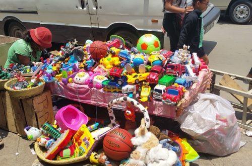 Article : Cette année, à Noël, on a choisi que des jouets d'occasion